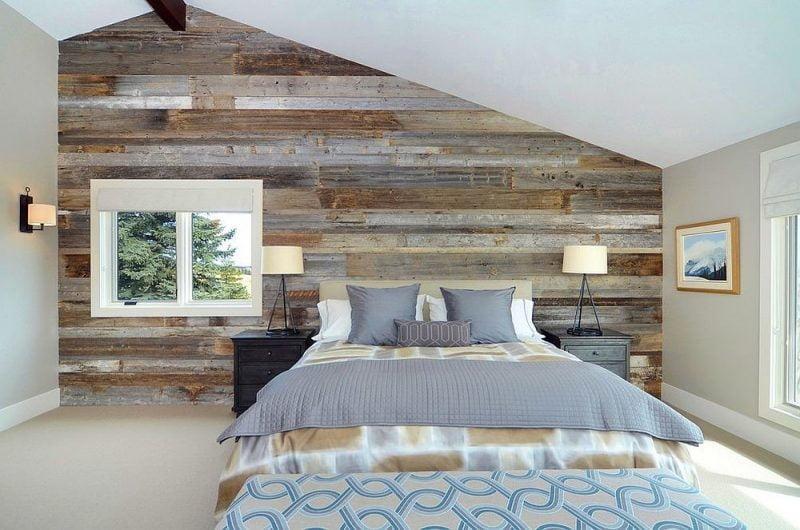 نمونه دیوار پوش چوبی