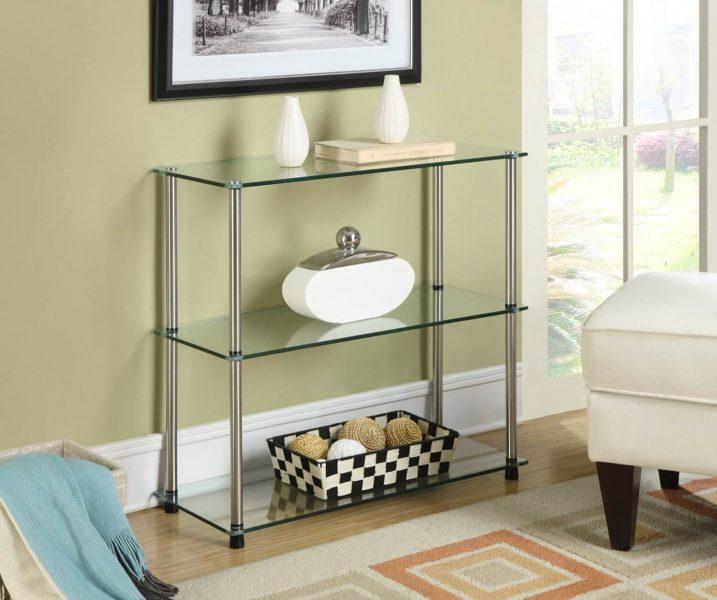 نمونه قفسه های شیشه ای