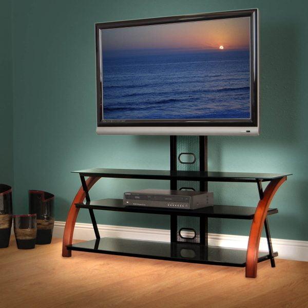 نمونه میز تلویزیون قفسه باز