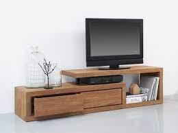 نمونه میز تلویزیون چوبی