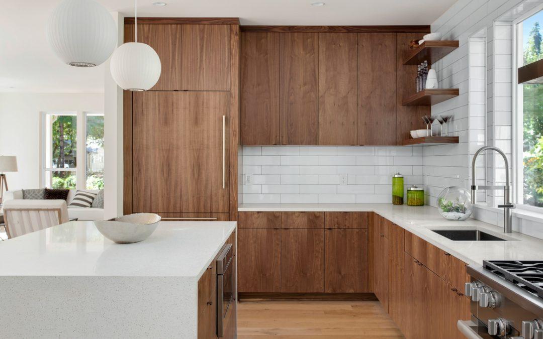 انواع مختلف کابینت های چوبی برای آشپزخانه شما