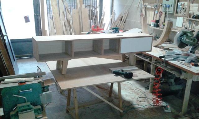 ساخت میز کنسول و میز TV