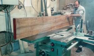 رنده کاری چوب