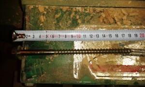 پیچ 18CM درب چوبی