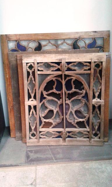 پنجره گره چینی ، ارسی سازی ، دکوراسیون سنتی چوبی