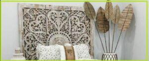 تخت خواب منبت کاری شده سبک قدیمی و آنتیک