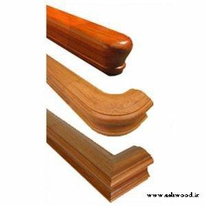 دست انداز و هندریل پله چوبی