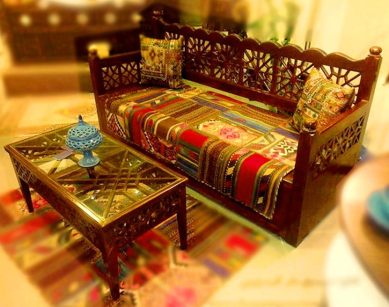 ابتکار و خلاقیت در مبلمان سنتی ایرانی