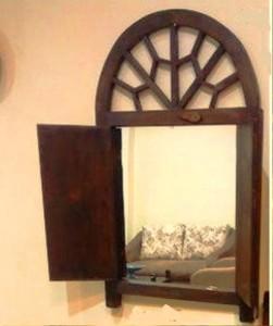 دکوراسیون داخلی ، قاب آینه گره چینی . گالری عکس فن و هنر