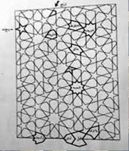 هنر سنتی گره چجینی ، دکوراسیون سنتی ایران زمین