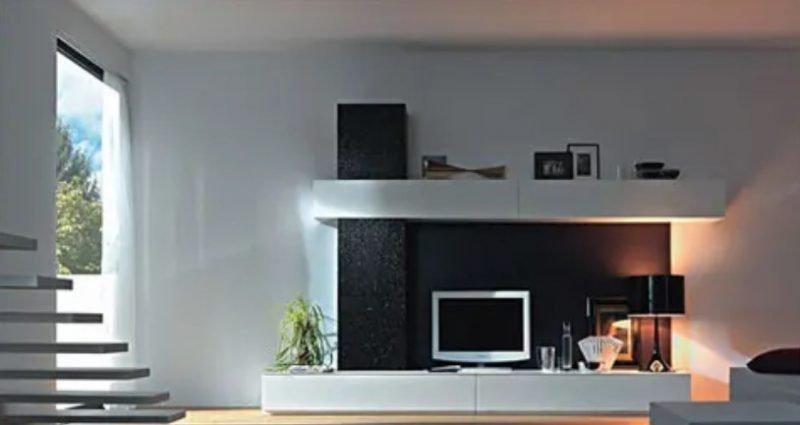 واحد دیواری برای تلویزیون