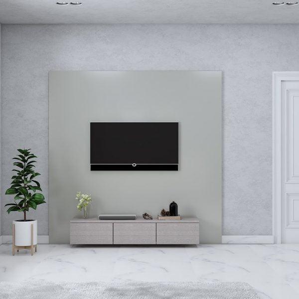 ویترین چوبی تلویزیون مینیمالیسم