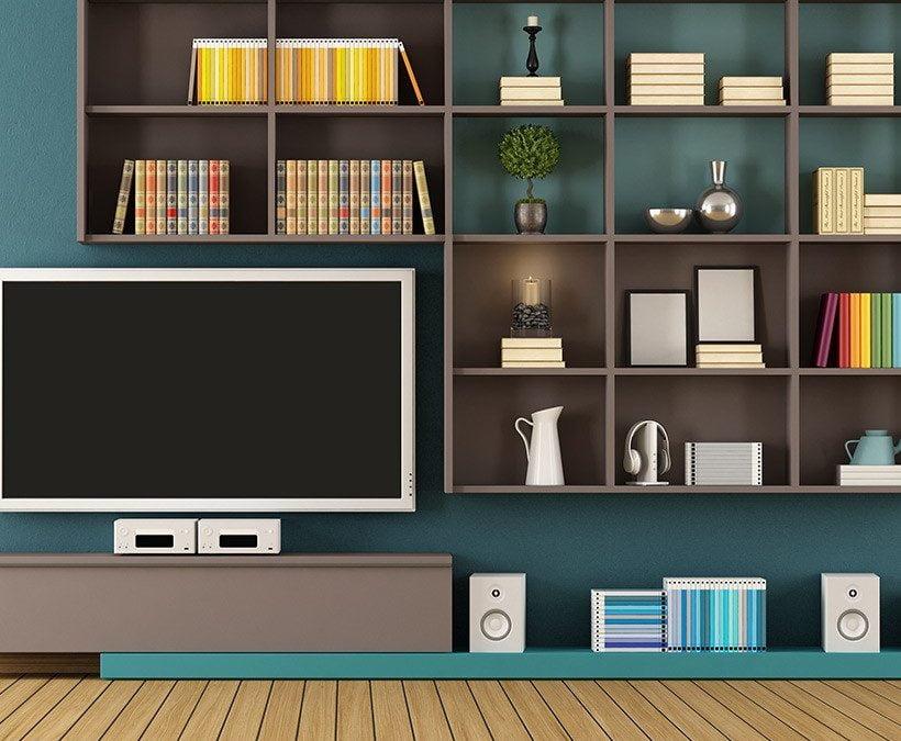 15 ایده آخر طراحی بازار ویترین چوبی تلویزیون برای خانه شما