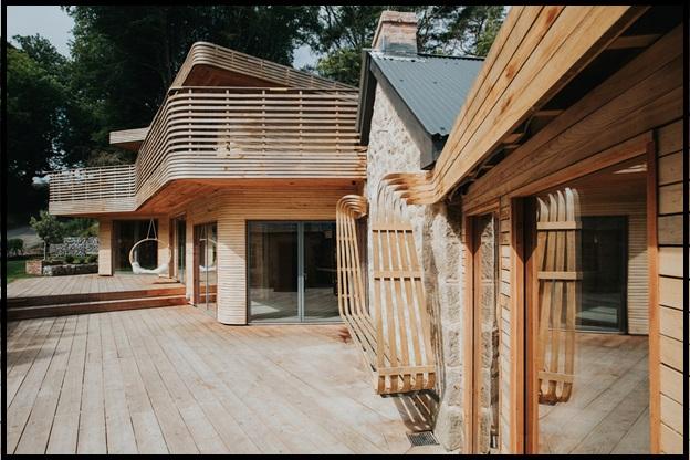 نگاهی به مزایای ساخت بهترین ویلای چوبی, کلبه چوبی