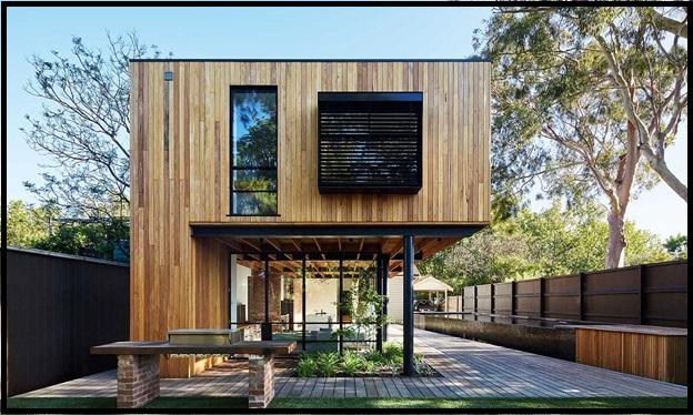 ایده های برتر ویلای چوبی , کلبه و خانه های چوبی جالب