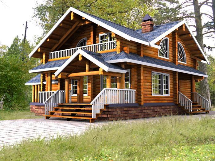 ویژگی ساخت خانه چوبی