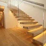 انواع پله معلق , سازنده پله چوبی و کف پله
