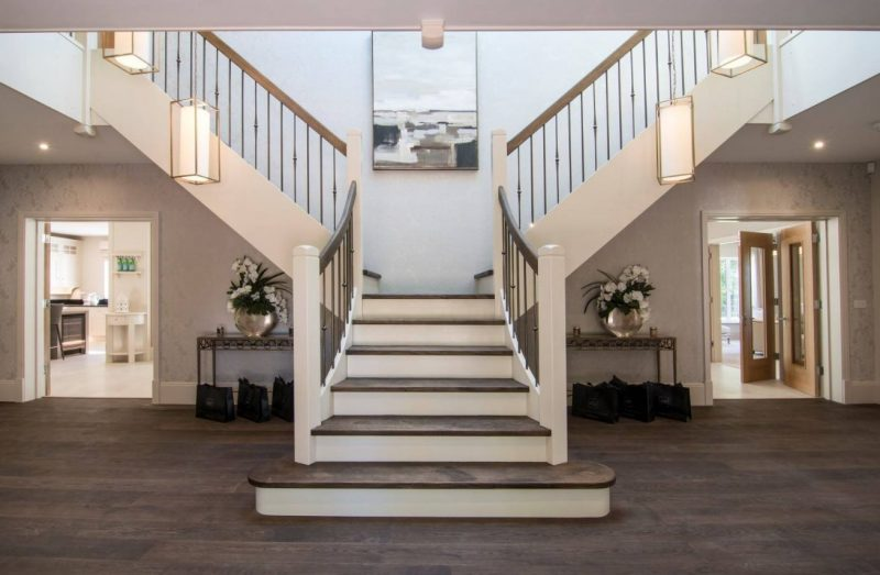 پله های تقسیم شده