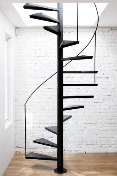 پله های مارپیچ