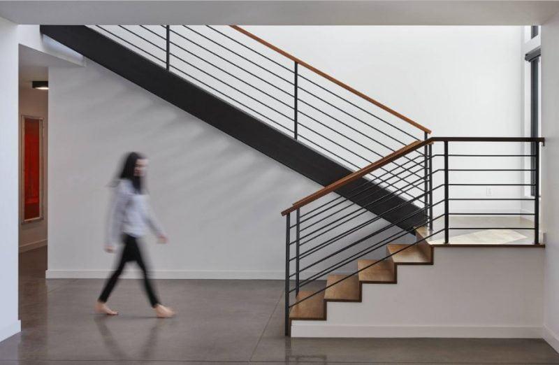 پله های یو شکل