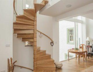 20 طراحی پله چوبی جذاب