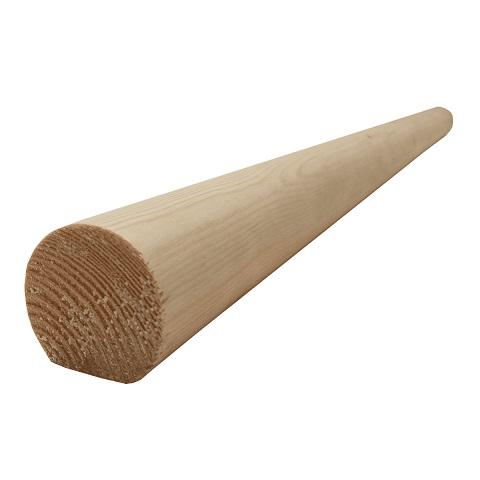 هندریل چوب گرد , دست انداز پله