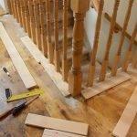اجرای نرده چوبی خراطی برای پرتگاه و وید
