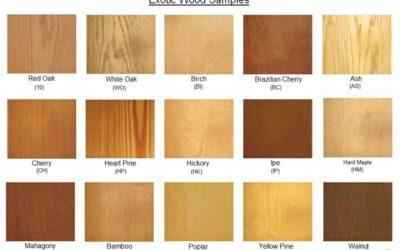 معرفی انواع چوب های معروف و پر کاربرد , شناخت چوب