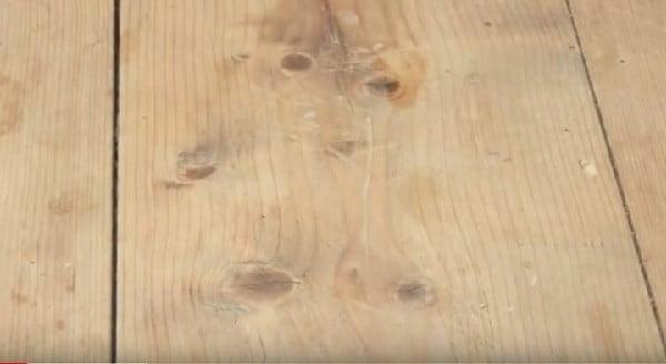 چوب کاج روسی برای کف پله