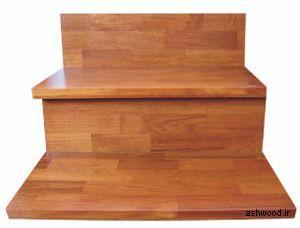رنگ گردویی چوب راش