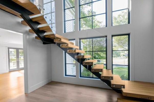 انواع پله ها