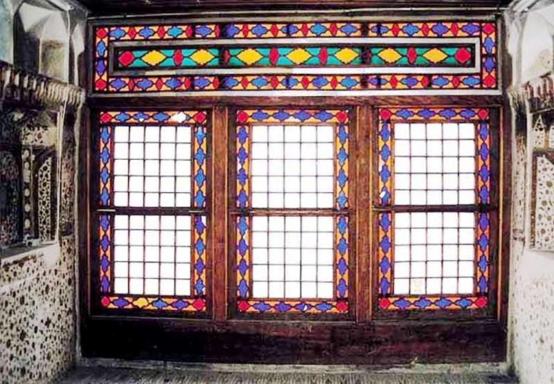 پنجرههای اُرسی منزل وثوق الدوله ، تهران