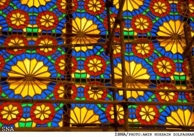 هنر گره چینی , پنجره ارسی , هنر , ایران , زمین