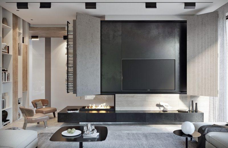 پنهان کردن تلویزیون در خانه