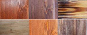 چارت رنگی لمبه چوبی