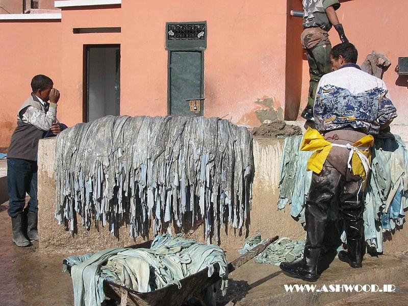 چرم موم در مراکش