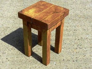 ساخت چهار پایه چوبی ، چهارپایه بلند ، چارپایه