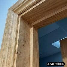 چهارچوب درب , فریم و روکوب درب چوبی