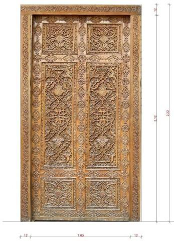 ساخت درب چوبی با چوب ساج ایروکو
