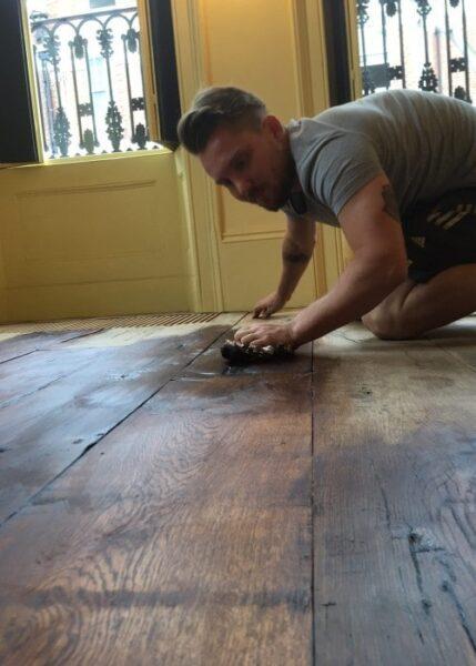 چوب بلوط بازیابی شده