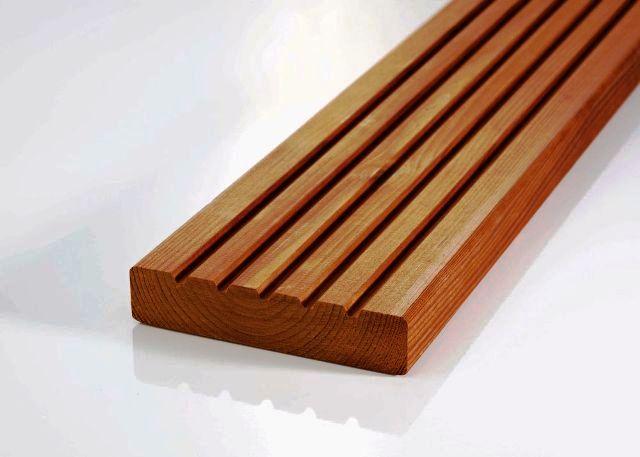 چوب ترموود در دکوراسیون خارجی و نما