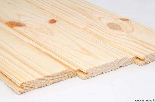 لمبه چوبی ضخامت 13 میلیمتر , لمبه 13 میل چوب کاج روسی