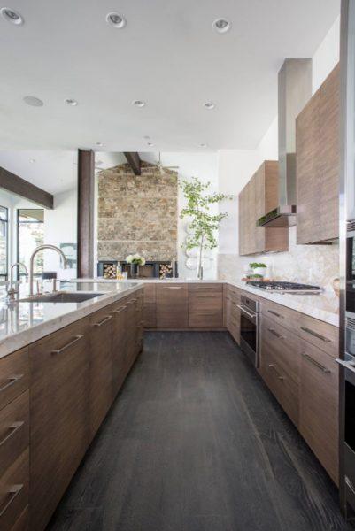 چوب روکش دار برای کابینت های آشپزخانه