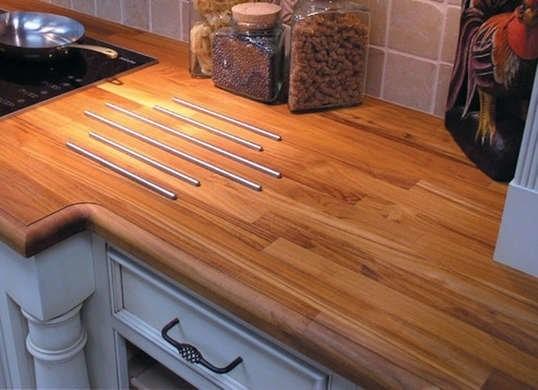 چوب ساج برای میز آشپزخانه