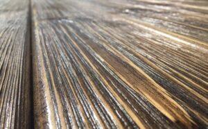 چوب سندبلاست با رنگ گردویی تیره , چوب کاج