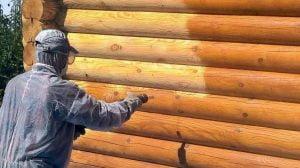چوب سندبلاست