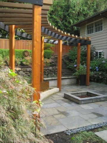 سازه چوبی در فضای باز , چوب ترمووود