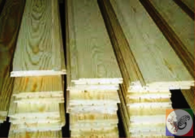 چوب لمبه دیوار سونا کلبه  (15)
