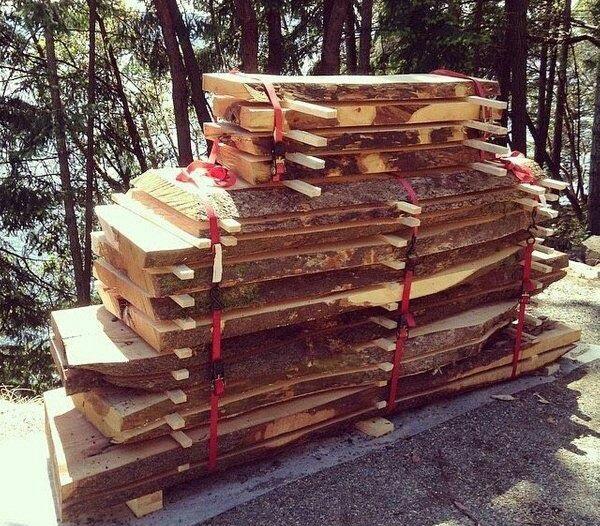 خشک کردن چوب به روش طبیعی و در فضای باز
