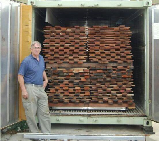 خشک کردن چوب به صورت طبیعی